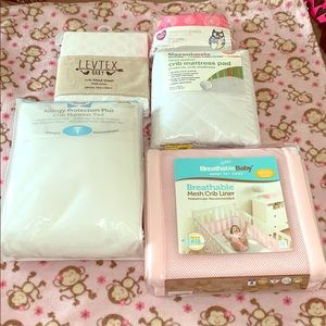 💕 Lot of FIVE infant bedding items 💕